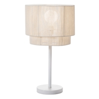 PAPER ROPE WOVEN TABLE LAMPS