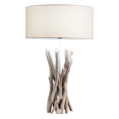 NATURAL DRIFTWOOD TABLE LAMPS
