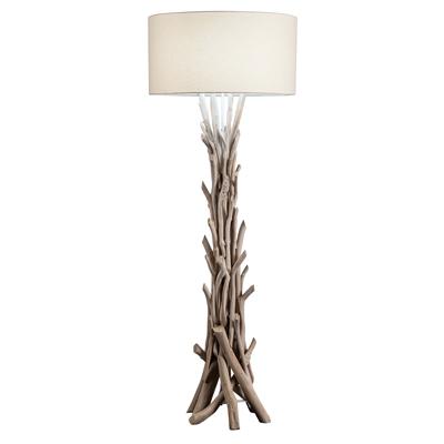 NATURAL DRIFTWOOD FLOOR LAMPS