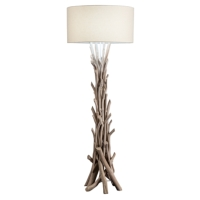 NATURAL DRIFTWOOD FLOOR LAMPS
