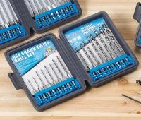 16 PCS Hex Shank Twist Drill Set