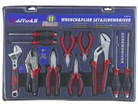 11 PCS Wrench & Plier Set
