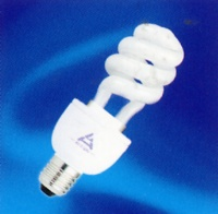 Replaceable Spiral Compact Fluorescent Lamp