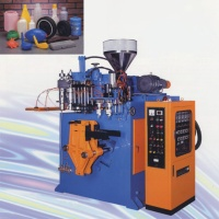 Automatic Blow Molding Machine/ Double Head, Single Station