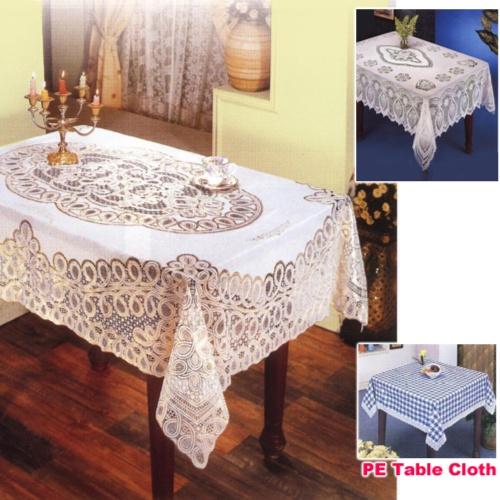 PVC/PE桌巾 桌墊 整廠輸出