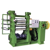 Rubber/Plastic Calender / Three Roll Calender : Common Bed type / Vertical