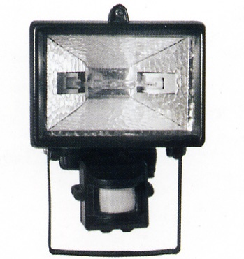 Floodlight with Sensor