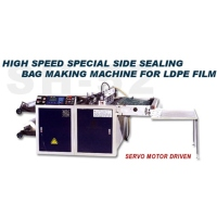 High Speed Special Side Sealing Bag Making Machine for LDPE Film