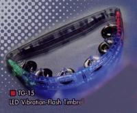 LED Vibration-Flash Timbrel