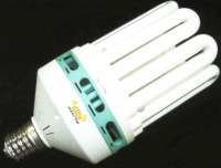 Highly efficient and large capacity electronic energy saving lamp