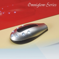 Omniglow LED Light with 7 Bulbs, with One More Switch in The Middle