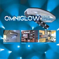 Omniglow LED Light with 7 Bulbs on A Bar, Direction Adjustable