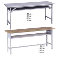 檯面型(905色)會議桌/白腳