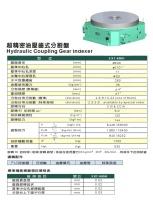超精密油壓齒式分割盤