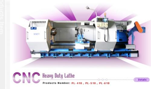 CNC Heavy Duty Lathe