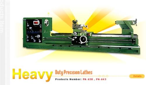 Heavy Duty Precision Lathes