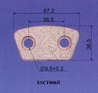 Cens.com Clutch Button NINGBO XIANGSHENG FRICTION MATERIAL CO., LTD.