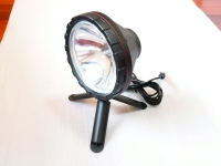 Indoor and outdoor hand-held  remote searchlight