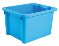 Household Multifunctional Storage Bin with Wider Handle Part, Easy to Move and Carry
