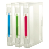 Carry File Box with Handle and 3 Colors for Choices