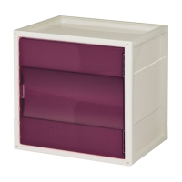 DIY Modern Cube with Door and Panel, Up-to-date Multifunctional Household Storage Cube