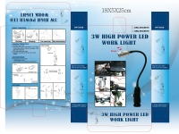 3W HIGH POWER LED WORK LIGHT