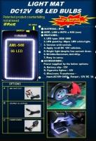 LED LIGHT MAT   DC12V  66 LED BULBS