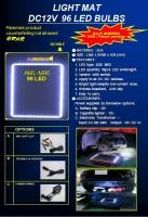 LED LIGHT MAT DC12V  96 LED BULBS