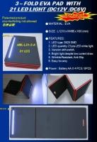 3 ━ FOLD EVA PAD  WITH21 LED LIGHT (DC12V /DC6V)