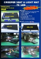 CREEPER SEAT & LIGHT MAT 72  LED