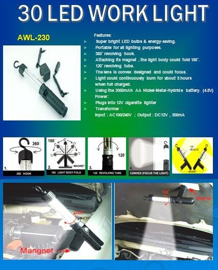 30-LED Work Light