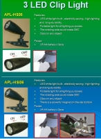 3-LED Cap Light