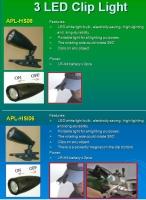 3-LED Cap Light w/Magnet