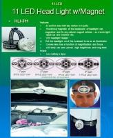 LED Headlight w/Magnet