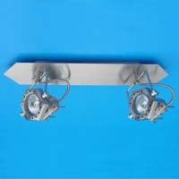 Mounted Spot Light with Six-angle Lamp Base and Double Lamp Holders