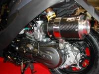 Carbon fiber air filter kit