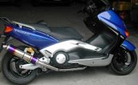 Handmade Hi-performance muffler for Yamaha T-MAX 500