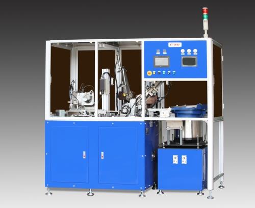 油封修边, 装簧及尺寸测量机