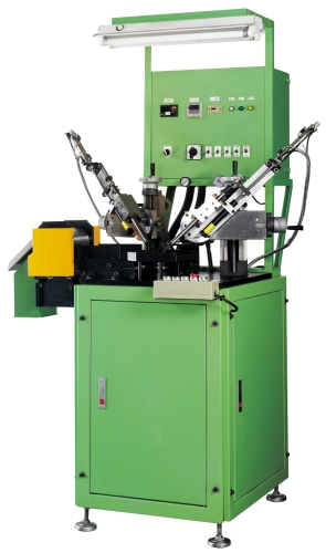 Vacuum type oil seal trimming machine