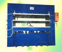 Plate-Type Vulcanizing Machine for Rubber Sheets