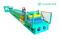 Steel Stepped Tile Roll Forming Machine