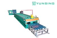 Steel Roofing Cold Roll Forming Machine