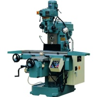 Turret  Type Vertical  Horizontal  Milling  Machine