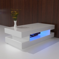 COFFEE TABLE W/LED