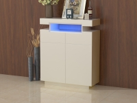 CABINET WITH 2 DRAWERS&2DOORS W/LED