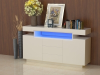 CABINET WITH 3DRAWERS&2DOORS W/LED