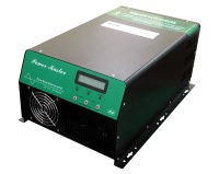 LCD Pure Sine Wave Power Inverter + Solar Charger + AC Charger