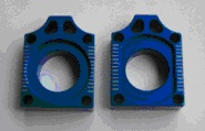 Axle block, CNC machined