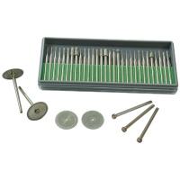鑽石磨棒-電鍍法