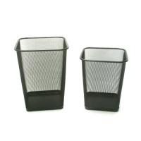 Wire Mesh Wastepaper Basket - Square